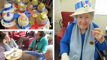 Fun-filled Easter celebrations at Leicester care home